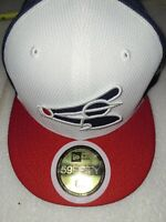 NWT New Era MLB Chicago White Sox Fitted Baseball Hat sz 6 5/8 (youth)Retro Logo