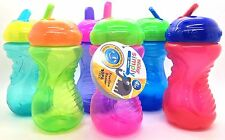 2x Nuby Simply Sipeez Freeflow Beaker with bite resistant spout easy Grip Bottle