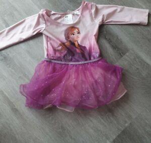 Pink Anna Frozen Tutu 4-6