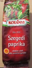 HUNGARIAN SWEET GRINDED SZEGEDI PAPRIKA (GUARANTEED HUNGARIAN) 160g (5.65oz)