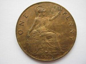 1912 H Penny A UNC