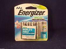Energizer ECO ADVANCED AA Alkaline Batteries, 4-pk. EXP. 12/2027 FREE SHIP!