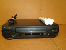 Refurbished 4-Head Vhs Vcr Panasonic Pv-V4022 with remote and cable Free Ship