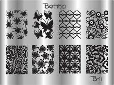 Plaque stamping BETINA B11