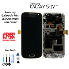 NEW OEM Samsung Galaxy S4 Mini GT-i9195 Replacement LCD Digitiser w/Frame BLACK