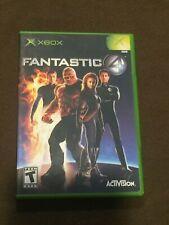 Original Microsoft XBox Video Game Fantastic 4 Rated T