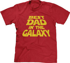 Best Dad In The Galaxy Movie Fan Fathers Day Gift Birthday Present Mens Tee