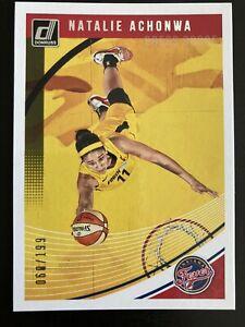 Natalie Achonwa Press Proof /199 2019 Donruss WNBA Indiana Fever