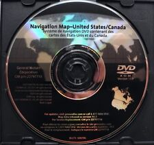 2006 to 2012 Buick Lucerne Enclave GMC Acadia Chevy Traverse Navigation DVD Map
