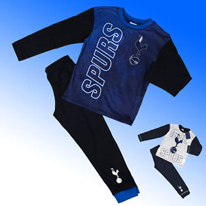 Boys Tottenham Hotspur Pyjamas Spurs THFC Age 4 5 6 7 8 9 10 11 12 Years