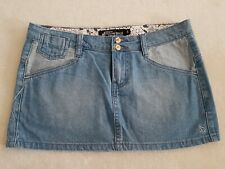 Volcom Soft Denim Skirt Size 8