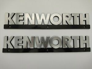 Kenworth hood emblem pair