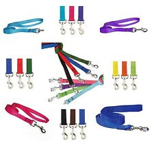 DOG LEAD LEASHES BULK LOT PACKS Litter Rescue Shelter - Choose Size & Quantity