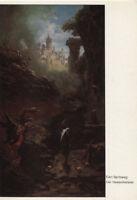 Alte Kunstpostkarte - Carl Spitzweg - Der Hexenmeister