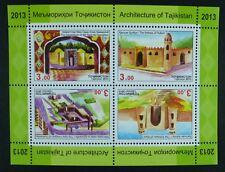 Tajikistan Tajikistan 2013 Hist. architecture Mausoleum Fort Mosque ** MNH