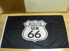 Fahnen Flagge ROUTE 66 Digitaldruck - 90 x 150 cm