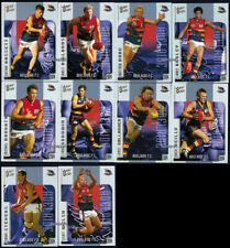 2004 AFL Select Ovation Trading Card Base Team Set ADELAIDE CROWS Star Players