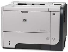 HP LaserJet P3015DN A4 USB Duplex Workgroup Mono Laser Printer CE528A With Toner