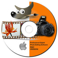 NEW 2019 Professional Photo Image Editing Software-GIMP-w/Photo shop Guide-*MAC*