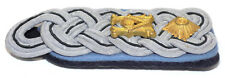 WW2 Original German Army Official Lt Colonel's Shoulder Board - Light Blue piped
