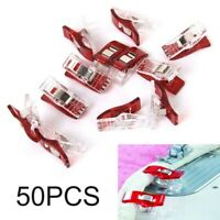 50Pcs Wonder Clips Fabric Craft Quilting Sewing Knitting Crochet Clamps Set