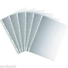 10, 50, 100, 250, 1000 Stück Prospekthüllen GLASKLAR Din A4  Klarsichthüllen