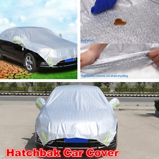 Soft Car Cover Waterproof Indoor Outdoor Car Body Protector Accessories Sliver
