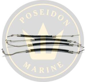 Steering cylinder hose kit for Volvo Penta DPH DPR RO: 21548739