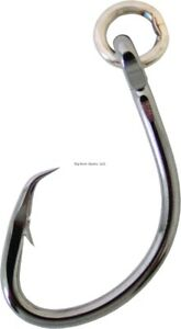 Owner Super Mutu Circle Hook, Size 8/0, Ringed