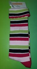 GYMBOREE Pups and & Kisses Striped Knee Socks Size 3 - 4 yrs NEW shoe SZ 9 10
