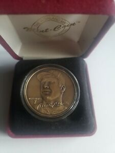 Mickey Mantle Highland Mint Limited Edition Gold Coin- No Reserve!