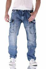 Big Seven Brian Cargo Herren Jeans Comfort Fit Hose - verschiedene Waschungen