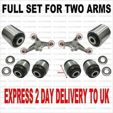 JAGUAR S TYPE / X350 LOWER REAR WISHBONE BUSHES, FULL SET FOR TWO ARMS
