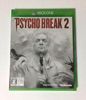 USED Xbox One Psycho Break 2 JAPAN Microsoft XOne import Japanese PsychoBreak