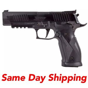 Sig Sauer X-Five .177 Cal Air Pistol, CO2 20-Round X5 Black Pellet Gun w/ Sight
