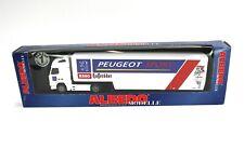 "Albedo Volvo Sattelzug ""Peugeot Sport Esso"" 320069 1:87 / H0 OVP NEU NOS"
