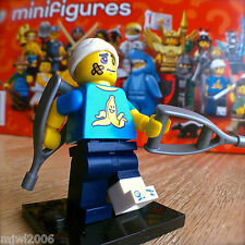 LEGO 71011 Minifigures SERIES 15 CLUMSY GUY #4 SEALED Minifigs Crutches Cast Ow!
