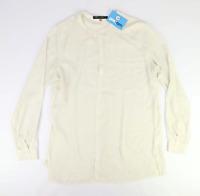 Rose & Olive Womens Size XL White Blouse (Regular)