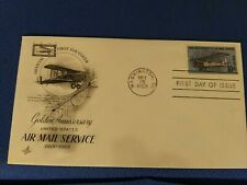 Scott #C74 10 Cent Airmail Stamp Honoring Airmail Service First Day Issue