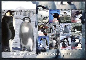 Brit. Antarktis 2006 Pinguine Penguins II Vögel Birds Antarctic 422-433 MNH