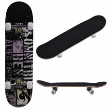 """31"""" x 8"""" Professional Adult Skateboard Cruiser Style Complete Deck Plastic"""