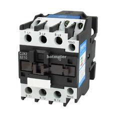 CJX2-3210 3 Phase 3P NO AC Contactor DIN Rail Mount 220V Coil 660V 50A