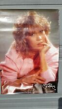 More details for genuine vintage abba poster agnetha faltskog 1983 68cm x 98cm