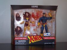 X-MEN DARK PHOENIX & CYCLOPS MARVEL LEGENDS 2 PACK TOYS-R-US EXCLUSIVE