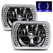 1981-1992 Toyota Corolla 7X6 H6014/H6052/H6054 Chrome Crystal Square Headligh...