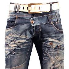 K&M Kosmo Lupo MARBLE Herren Jeans Denim Straight Cut Alle Gr. Neu