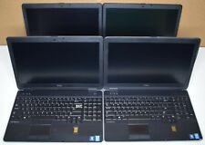 "Lot of 4 Dell Latitude E6540 i5-4300M/i7-4810MQ 16GB RAM 15.6"" Full-HD Laptops"