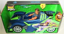 Original Max Steel Turbo Cross Transforming Racer and 12-Inch Action Figure