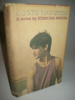 A Boy's Own Story Edmund White 1st Edition Novel 3rd Printing Gay Fiction 1982