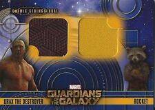 Guardians of the Galaxy card CSD-3 Cosmic Strings Dual DRAX THE DESTROYER ROCKET
